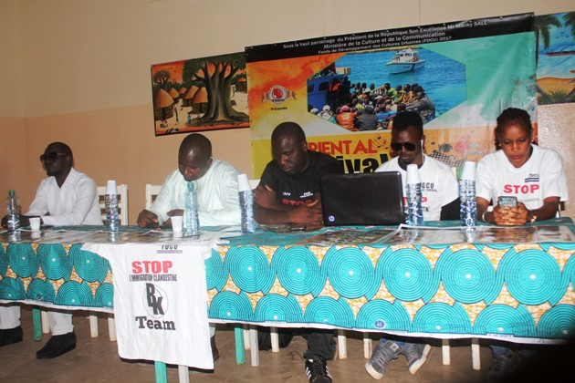 Oriental Festival : BK Team joue sa partition contre l'immigration clandestine
